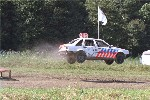 Spectaculaire wedstrijden tijdens autocross