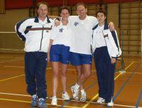 Bas badminton 1 kampioen